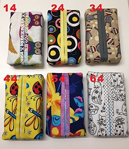 Kids Print Tissue Cover-Trendy print,Personal size tissue cover - IN STOCK, ready to ship, pocket size, travel size, Qty1 or Buy 3 & save!