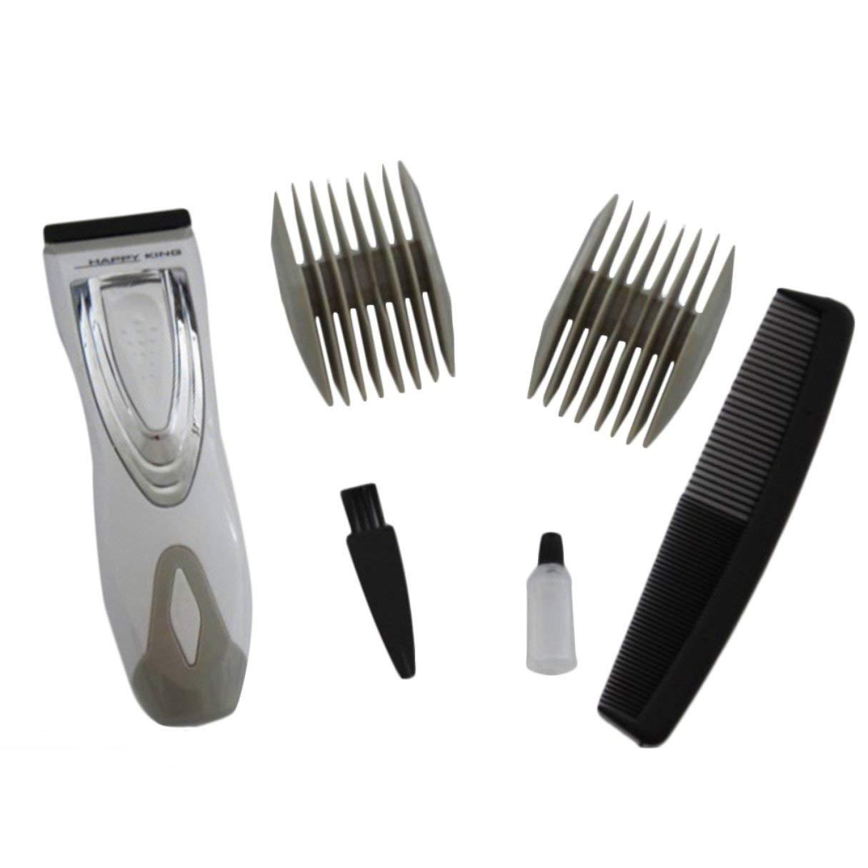 Podadora de cabello eléctrica, máquina de afeitar eléctrica de barba de afeitar, maquinilla de afeitar, peinadora corporal, depilación eléctrica, batería práctica, para barba de pelo Moustacheand Wafalano