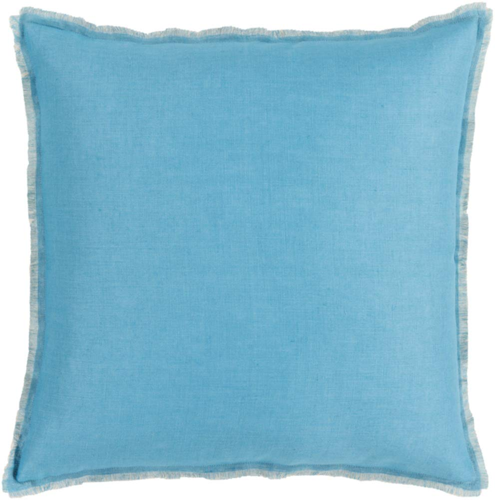 Solid & Border Pillow Cover Only Square 18'' x 18'' WL-066923-S