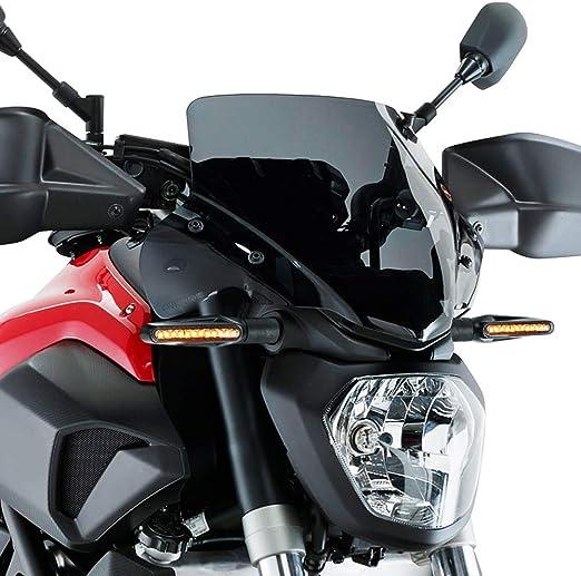 Intermitentes Moto led 12 10.5 * 2cm Universal 4 Piezas Intermitentes Moto Indicadores Moto 12V