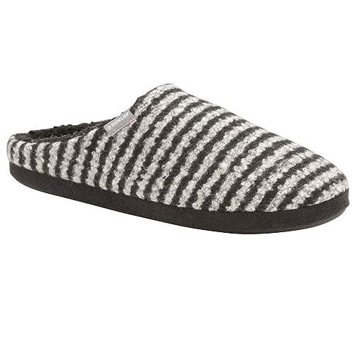 Hombre Dunlop Zapatos sin Talón Interior Casa Pantuflas: Amazon.es: Zapatos y complementos