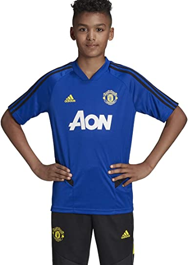 Amazon Com Adidas Kid S Manchester United Training Jersey 2019 20 Clothing