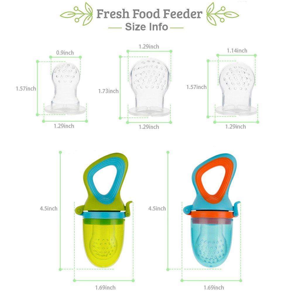 Amazon.com: Bebé alimentador de alimentos y frutas ...