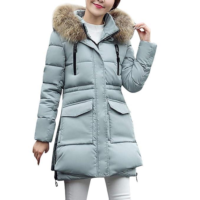 ASHOP Ropa Mujer, Chaquetas de Mujer Invierno reflectiva Abrigo Perro Grande Impermeable Cremallera Jackets: Amazon.es: Ropa y accesorios