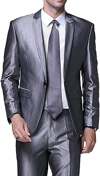 Blazer+Pants TBB 2 Pieces Mens Suit Checkered Formal Notch Lapel Groomsmen Tuxedoes for Wedding