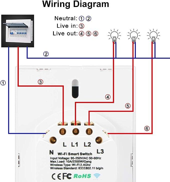 Single Pole Circuit Breaker Wiring Diagram