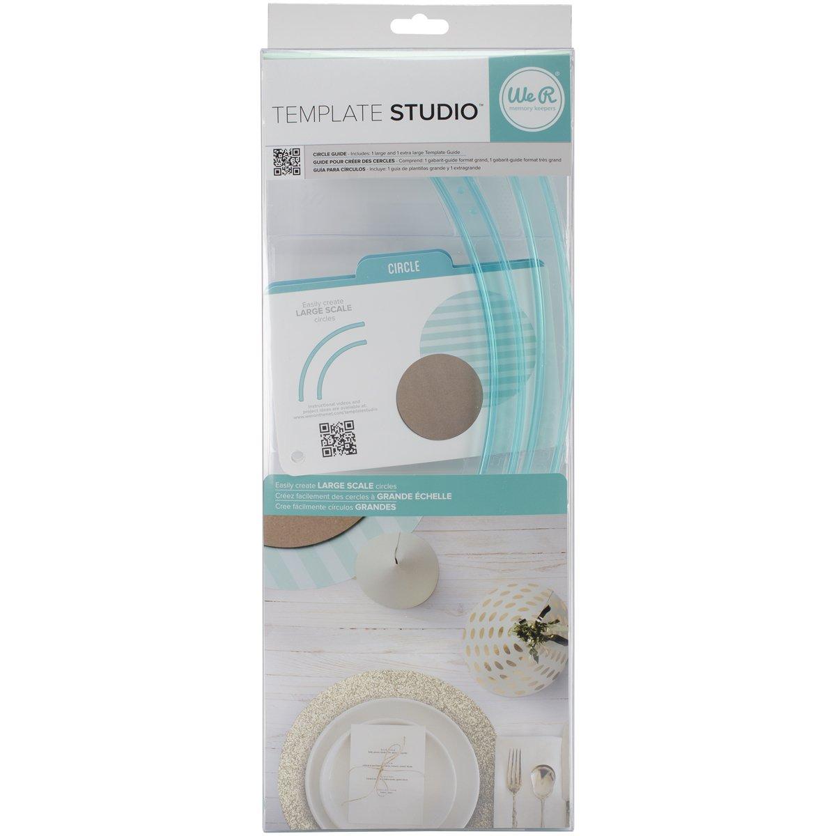 We R Memory Keepers 0633356625537 Studio-Circle Template