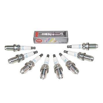 BMW Bujías, Plug Set Laser Platinum NGK OEM 3199 (8pcs): Amazon.es: Coche y moto