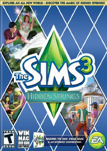 The Sims 3: Hidden Springs (Vacation Expansion Pack Pc Games)