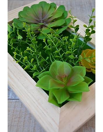 Jardín Vertical Decorativo con Plantas Artificiales Hogar y más ...