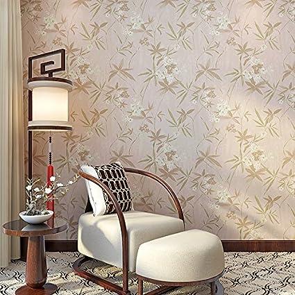 YUELA Moderno classico cinese bamboo antichi wallpaper carta da ...