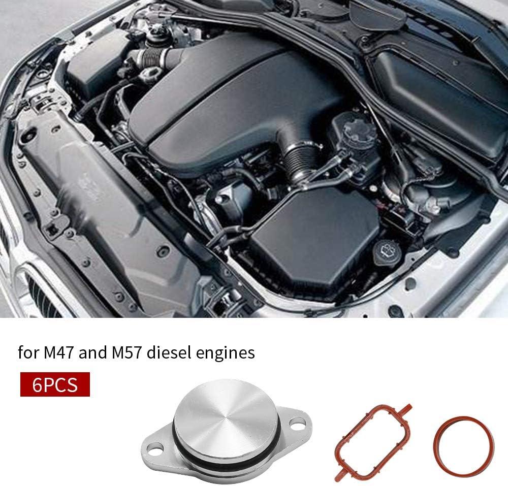 1.25 Swirl Flap Delete Kits With Intake Manifold Gaskets For M47 M57 Diesel Engines E90 E91 E92 E93 E60 E61 E63 E64 E66 E83 E53 E70 E71