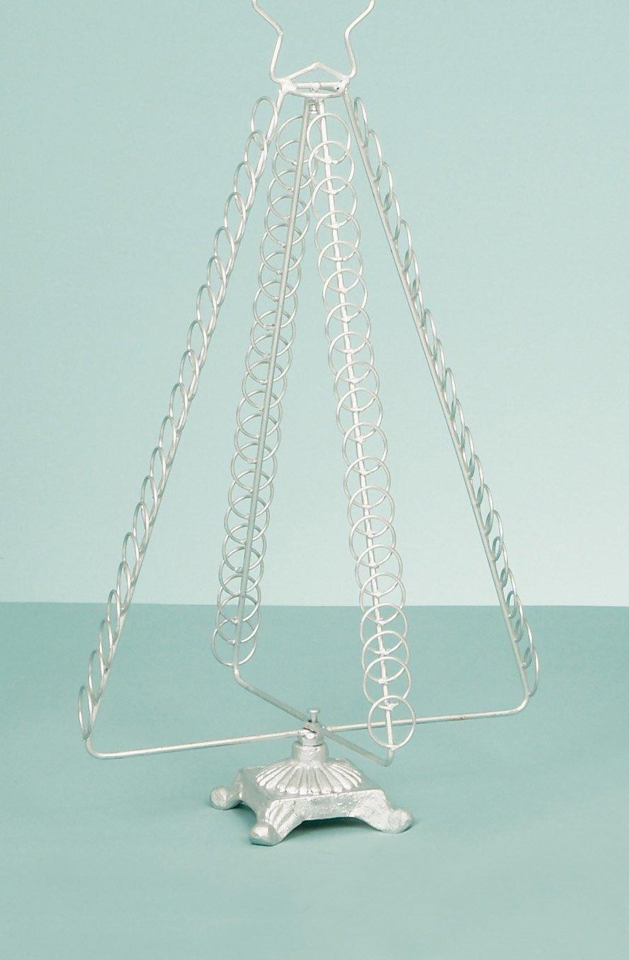 Christmas Concepts® 50cm Silver Metal Christmas Card Holder: Amazon ...