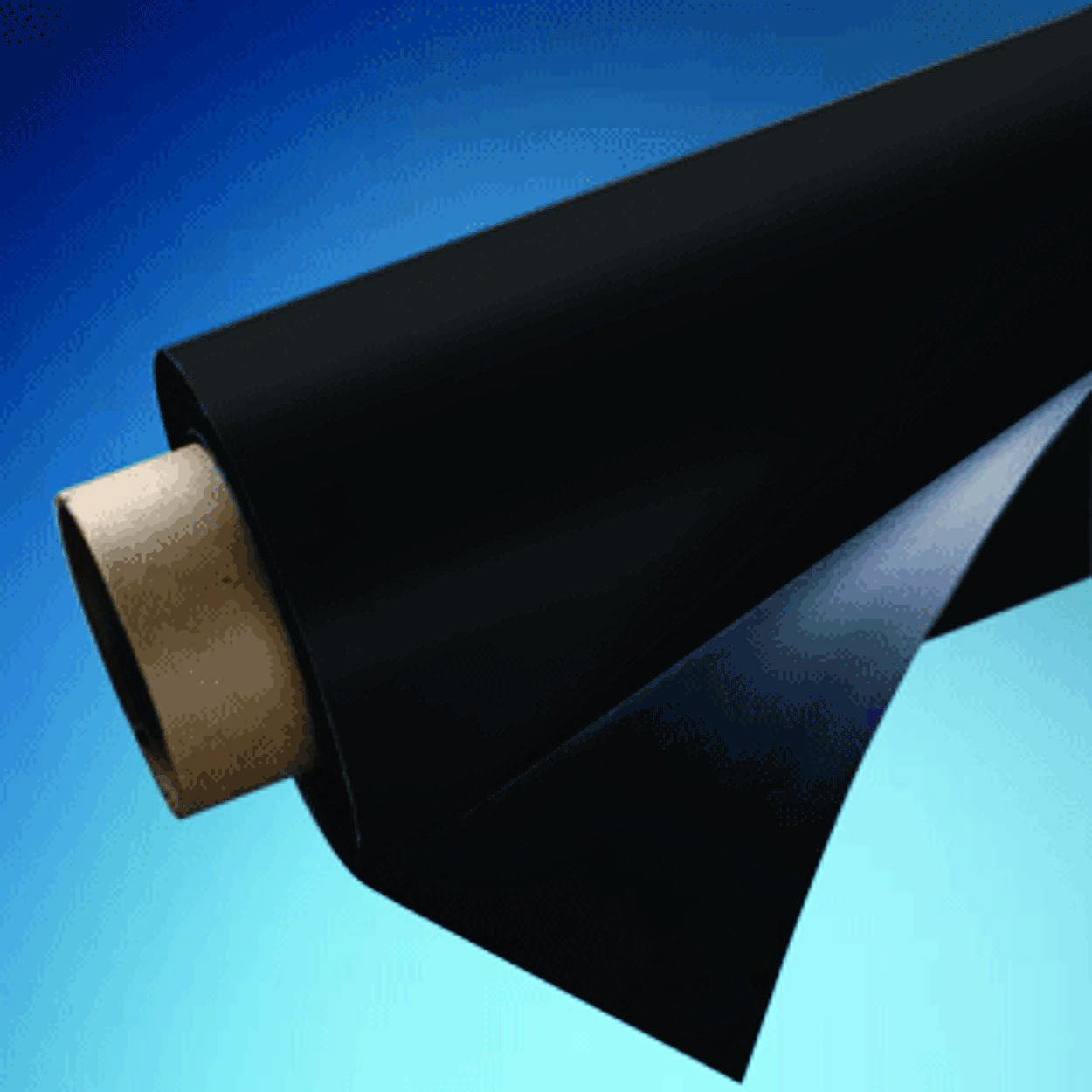 24'' X 5' Roll Magnetic Sheeting - Black Vinyl by Pro Mag by Magnum Magnetics