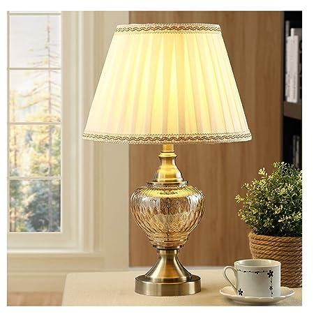 Lámpara De Mesa Moderna Lámpara De Cristal Transparente ...