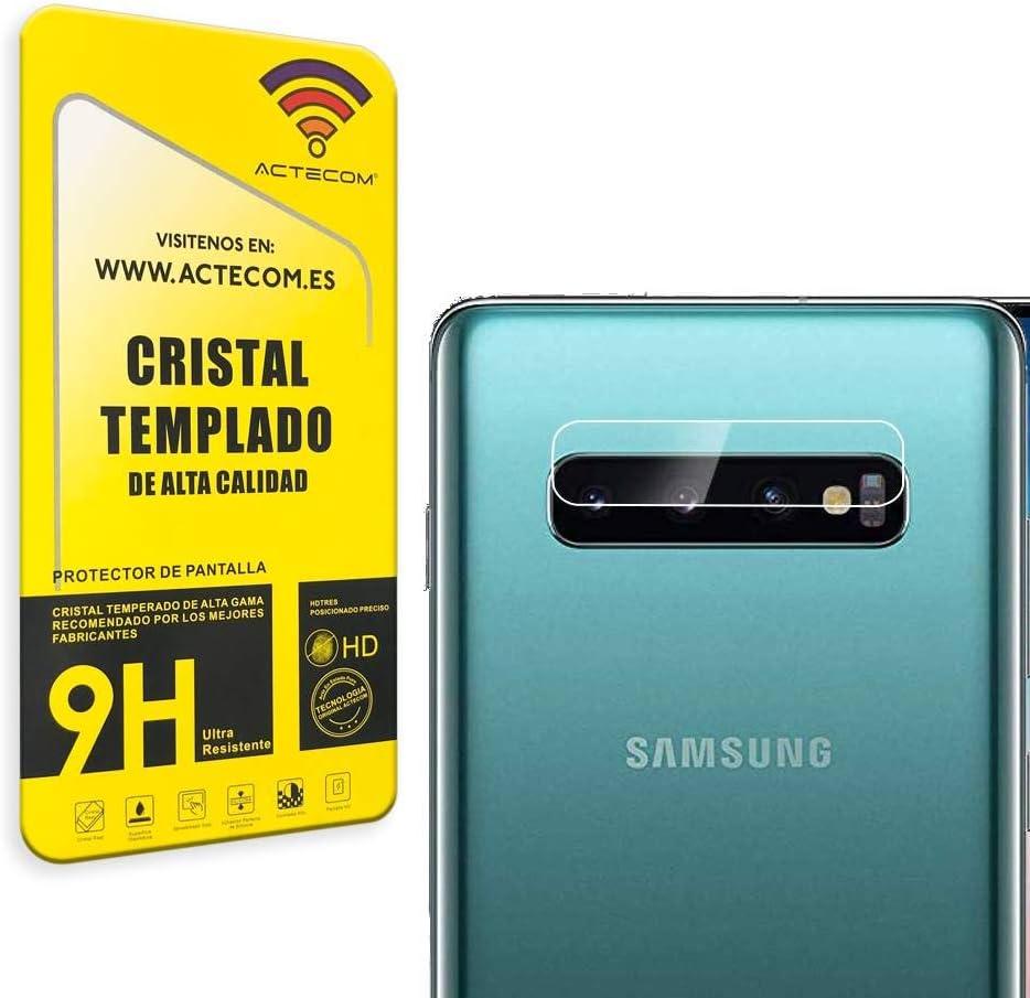 actecom Protector Camara para Samsung S10 Plus Cristal Vidrio ...