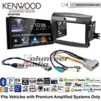 Volunteer Audio Kenwood DDX9704S Double Din Radio Install Kit with Apple Carplay Android Auto Fits 1990-1997 Honda Accord, 1990-2001 Acura Integra