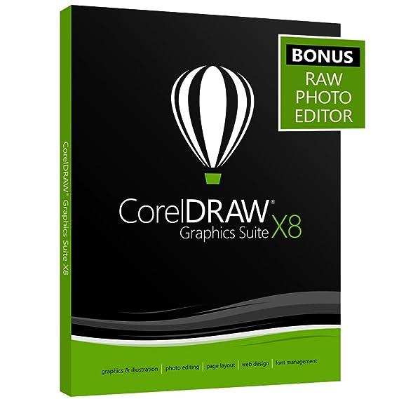 amazon com coreldraw graphics suite x8 amazon exclusive