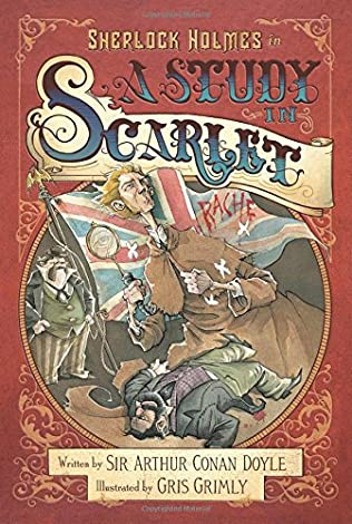 book cover of A Study in Scarlet