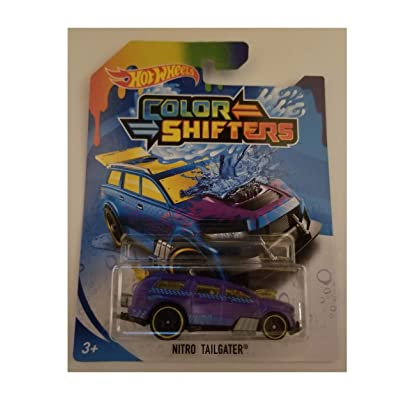 Hot Wheels Color Shifters Nitro Tailgater 2020: Toys & Games