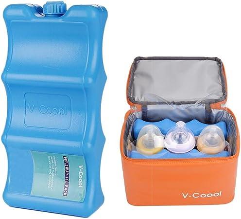 royalr Glace r/éutilisables Packs de Stockage Gardez Frais Lait Maternel Ice Packs Sein Bo/îte /à Lunch Tire-Lait Sac Multi-Usage Frais Cooler