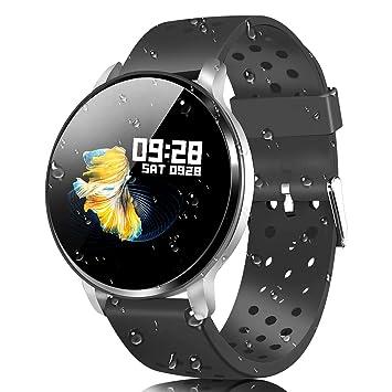 CatShin Pulsera Actividad Smartwatch Inteligente-CS06 Pulsera Deportiva Hombre Mujer Impermeable Reloj Inteligente con Pulsómetro Monitor de Ritmo ...