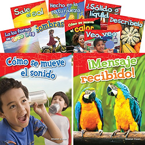Let's Explore Physical Science Grades K-1 Spanish, 10-Book Set (Science Readers: Content and Literacy) (Spanish - Book K1