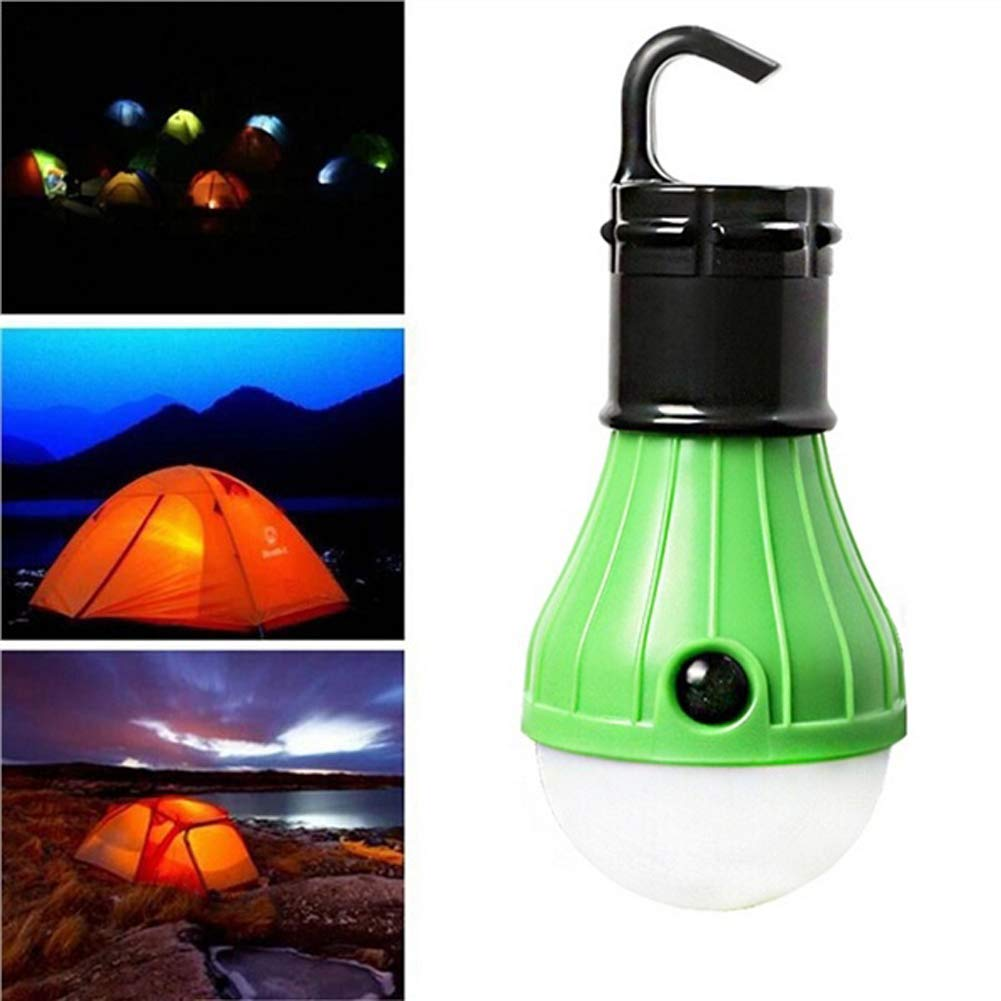KINJOHI Portable Outdoor Waterproof Tent LED Light Bulb Lumens Emergency Light Lamp Lantern for Camping,Hiking,Fishing,Hunting