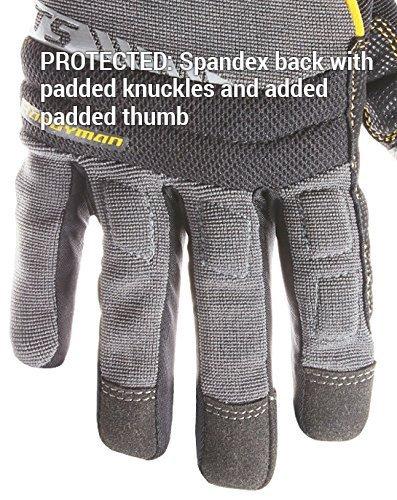 CLC 125L Handyman Flex Grip Work Gloves, Shrink Resistant, Improved Dexterity, Tough, Stretchable, Excellent Grip 6