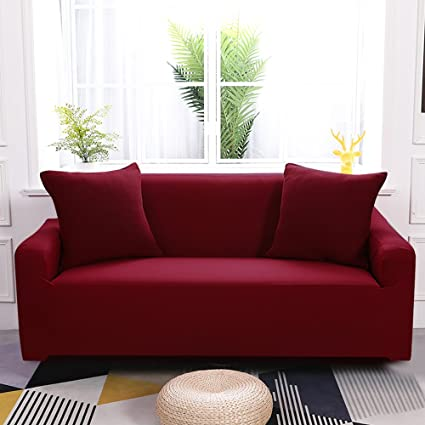 Merveilleux Boshen Stretch Seat Chair Covers Couch Slipcover Sofa Loveseat Cover 9  Colors/4 For 1