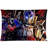 FFfghdde Hot Selling Pillow Case Cushion Personalized Custom Movie Transformers Pillow Case 20x30 Inch Two Sides