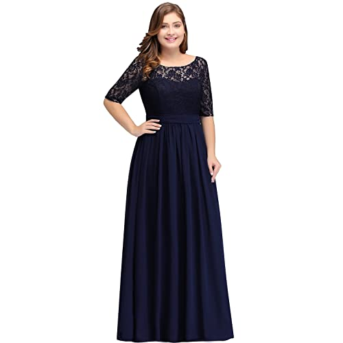 Navy Blue Formal Dresses: Amazon.com
