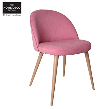 The Home Deko Factory U2013 Stuhl Sessel Vintage Rosa