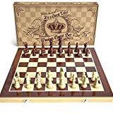 Best Chess Set For Kids - Wooden Chess Set: Universal Standard Wooden Chess Board Review