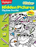 Highlights Sticker Hidden Pictures Playtime Puzzles, Highlights for Children, 1620917866