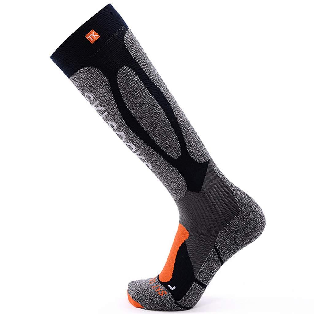 Zilee Calcetines Hombre Compresion Medias Termicos Largos Calcetines para Invierno Deportivos Esquí Ciclismo Trekking Running Futbol Excursionismo Socks, ...