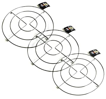 Compra Happy Friends - Salvamanteles Metálico Redondo - Diámetro 20 cm - Set de 3 en Amazon.es