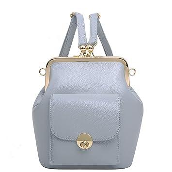 KIU Funda de verano para mochila/Mochilas de color sólido/Bolsos de moda de estilo College-azul: Amazon.es: Equipaje