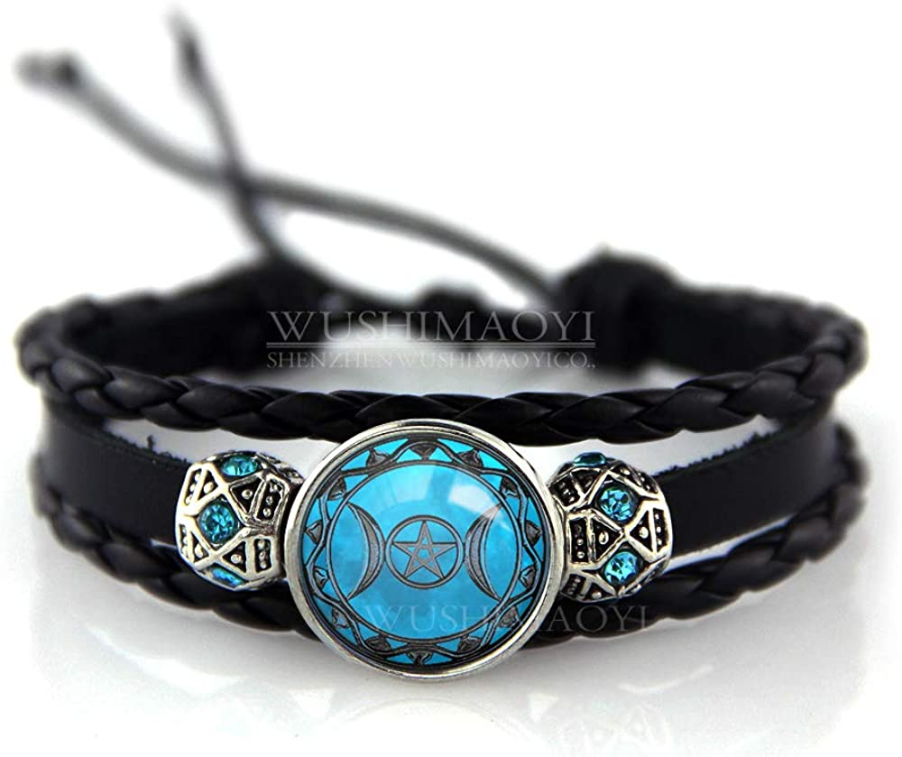 ready for shipping bangle with mini witch charms bracelet