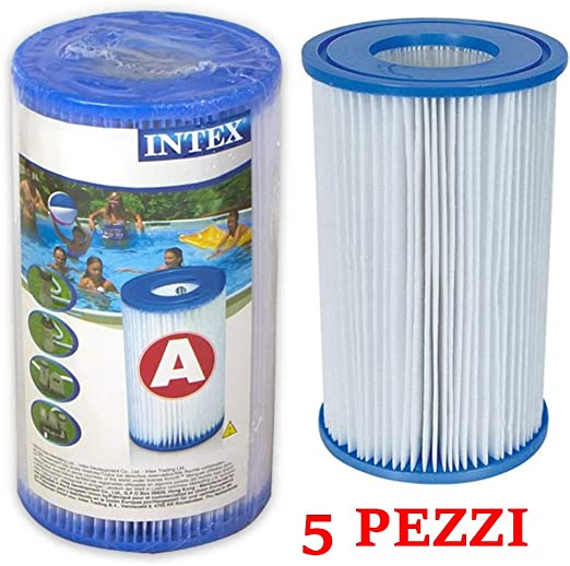 INTEX Filtro Cartuccia tipo A tipo FILTRO FILTRO CON CARTUCCIA pompa filtro a cartuccia