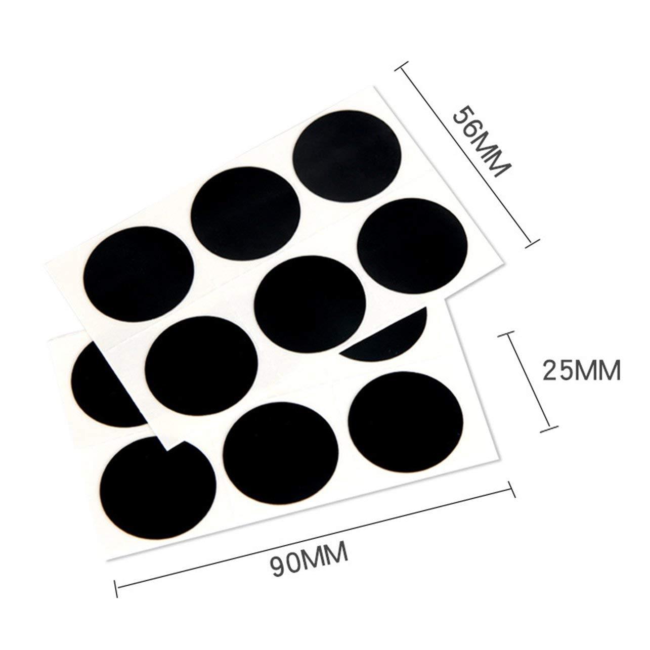 WOSOSYEYO Nouveau No Glue Needed V/élo V/élo Pneu Crevaison Outil De R/éparation Kit Sticker-Patch