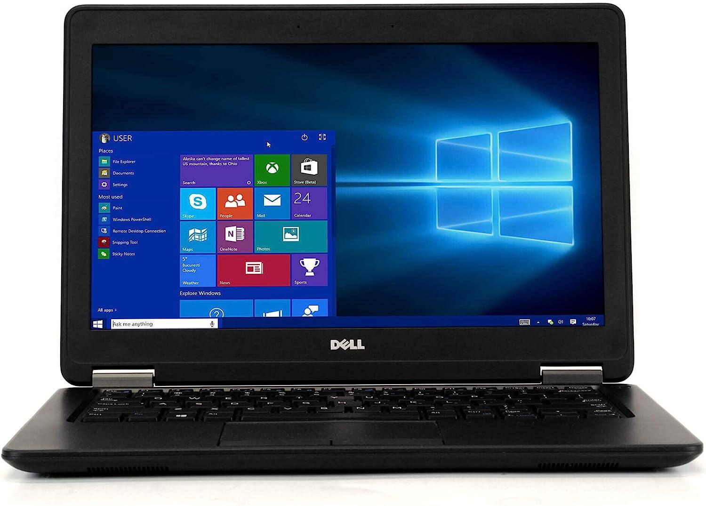 Dell Latitude E7250 12.5in Business Class Laptop, Intel Core i7 5600U 2.6Ghz, 8GB DDR3 RAM, 256GB mSata SSD, HDMI, Webcam, Windows 10 (Renewed)