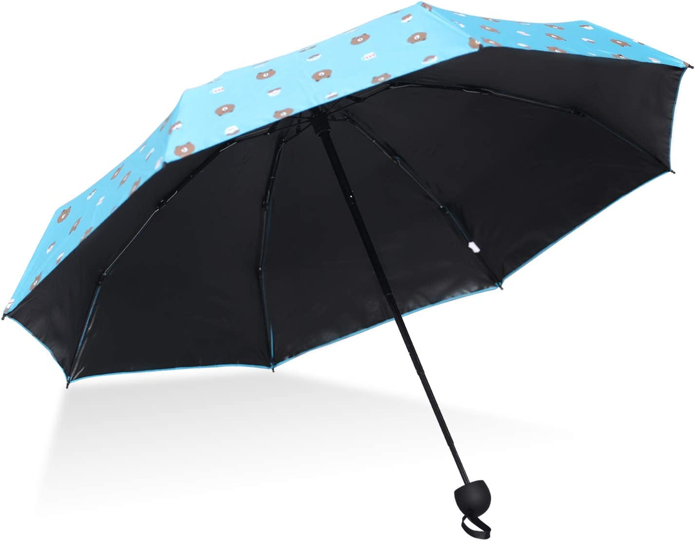 ABCCANOPY Umbrella Windproof Sun & Rain Umbrellas Folding Compact Umbrella Portable Lightweight UV resistant