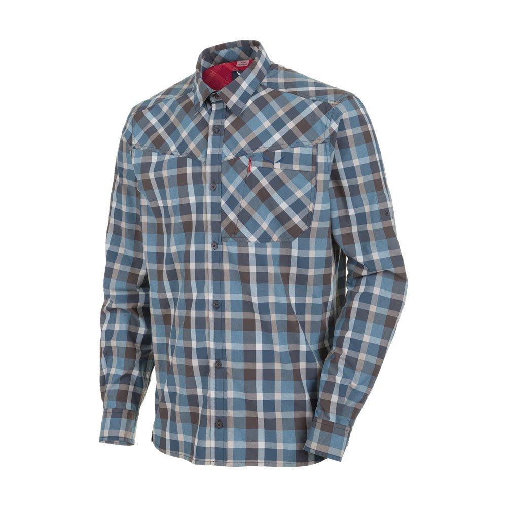 SALEWA Fanes Hike Dry M L/S SRT SRT SRT Camisa de Manga Larga, Hombre, Morado (M Bkol/PAPY/Wash/Dkd), 48/M 364369