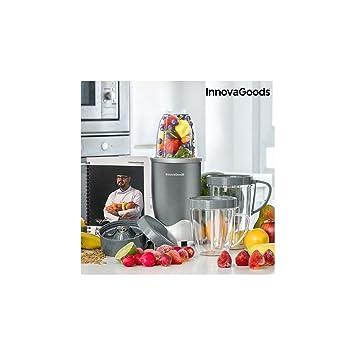 InnovaGoods IG115083 Batidora de Vaso, 600 W, Gris