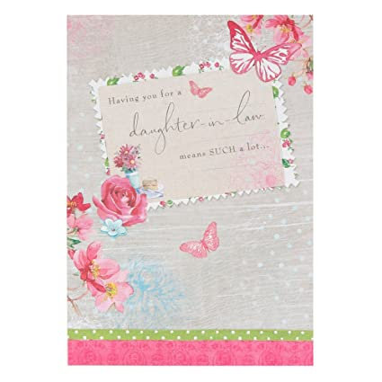 Amazon Daughter In Law Birthday Card Office Products
