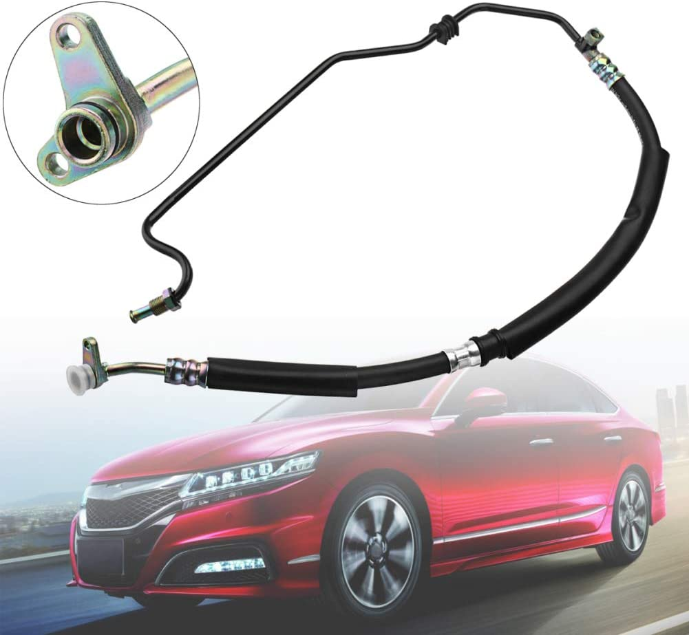 YSHtanj Power Steering Pressure Hose Car Interior Parts Pressure Hose Power Steering Pressure Hose Replacement for TSX Accord 2.4L 04-08 53713-SDC-A02