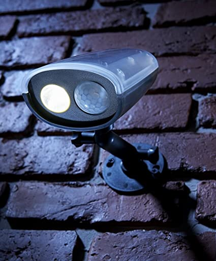 Battery Motion Activated Cordless Super Bright LED Light Weather Resistant PIR