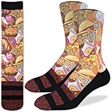 Good Luck Sock Men's Junk Food Socks