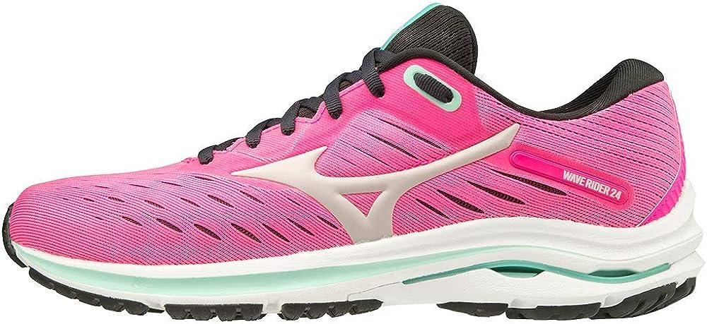 Mizuno Womens Wave Rider 24 Running Shoe